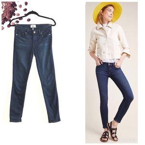 PAIGE Dark Wash Verdugo Skinny Jeans
